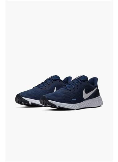 Nike Nike Revolution 5 BQ3204 Günlük Fileli Erkek Spor Ayakkabı Lacivert